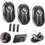 3 Pack Phone Ring Holder Multipurpose Mobile Phone Bracket Holder Rotation Stand Phone Ring Holder Finger Kickstand…