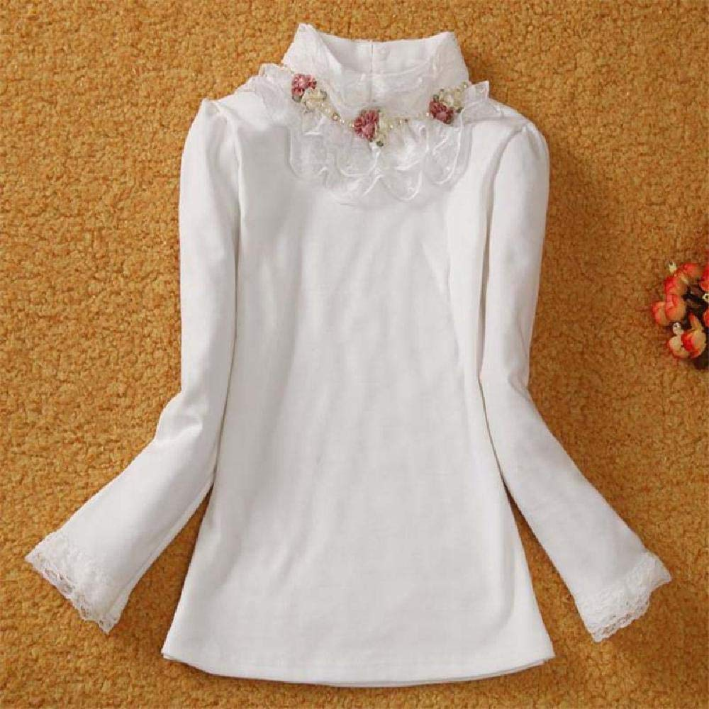 BCVHGD Children Autumn Clothing Girls Cotton Sweaters Kids Girls Princess Blouse Sweaters Winter Girls Tops