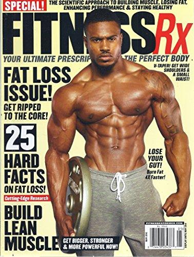 Fitness Rx Magazine (May 2016 - Simeon Panda)