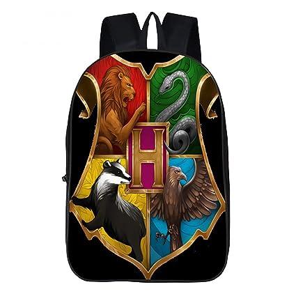 Mochila Para Niños Harry Potter Patrón Imprimir Bolsa ...