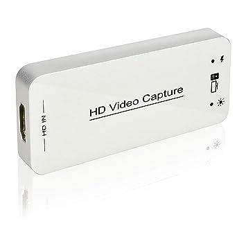 DIGITNOW! Dongle de Captura de Video HDMI USB 3.0 y Dispositivo de Tarjeta HDMI Dongle Full HD 1080P Video Audio HDMI to USB Converter Converter para ...