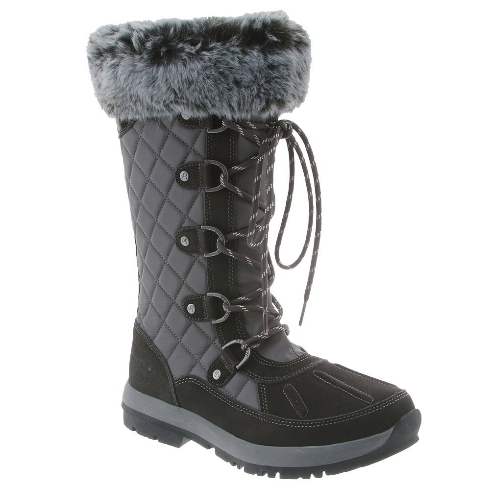 Bearpaw Quinevere Black II Womens Winter Boot Size 8M