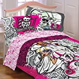 monsters inc bedding set twin - Monster High Twin Comforter with a Pillow Sham Set