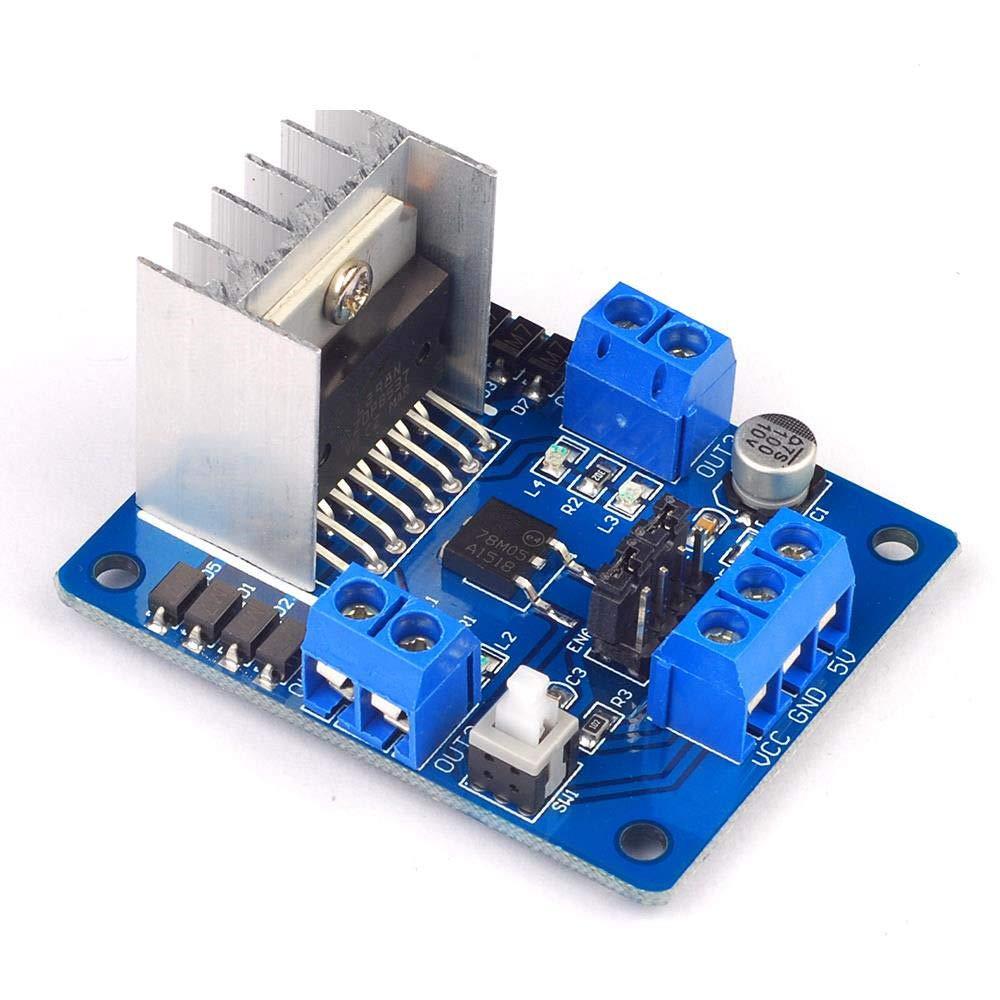 1PCS Dual H Bridge DC L298N Stepper Motor Driver Board Module High Qualiy