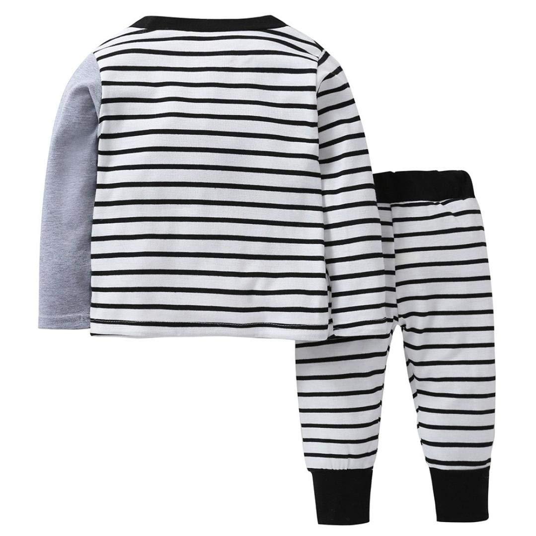 Baby Autumn Pajamas Sets,Jchen/(TM/) Newborn Baby Infant Boys Girls ...