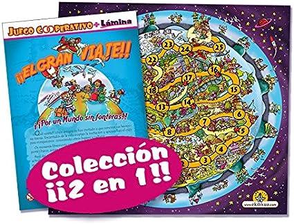 El gran viaje (juego + lámina decorativa): Amazon.es: Juguetes y juegos
