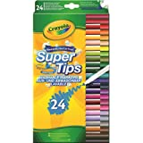 Crayola - 58-5057-E-000 - 24 Feutres à dessiner - Boîte