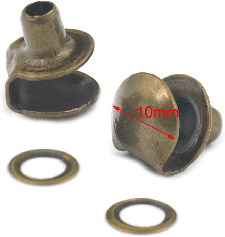 10 Boot lace hooks Gunmetal gun metal colored camp repair speed no setter