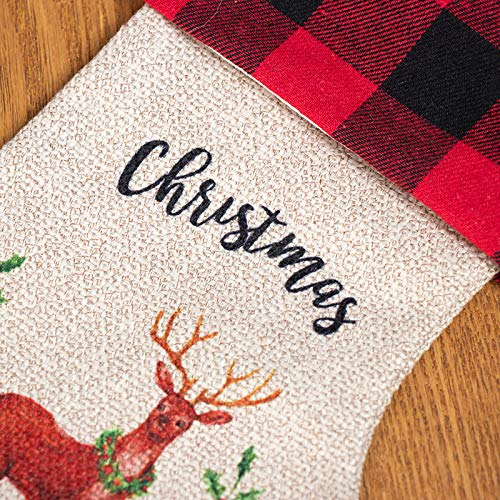 Christmas Stockings 3 Pack Christams Decorations Holiday Season Party Decor