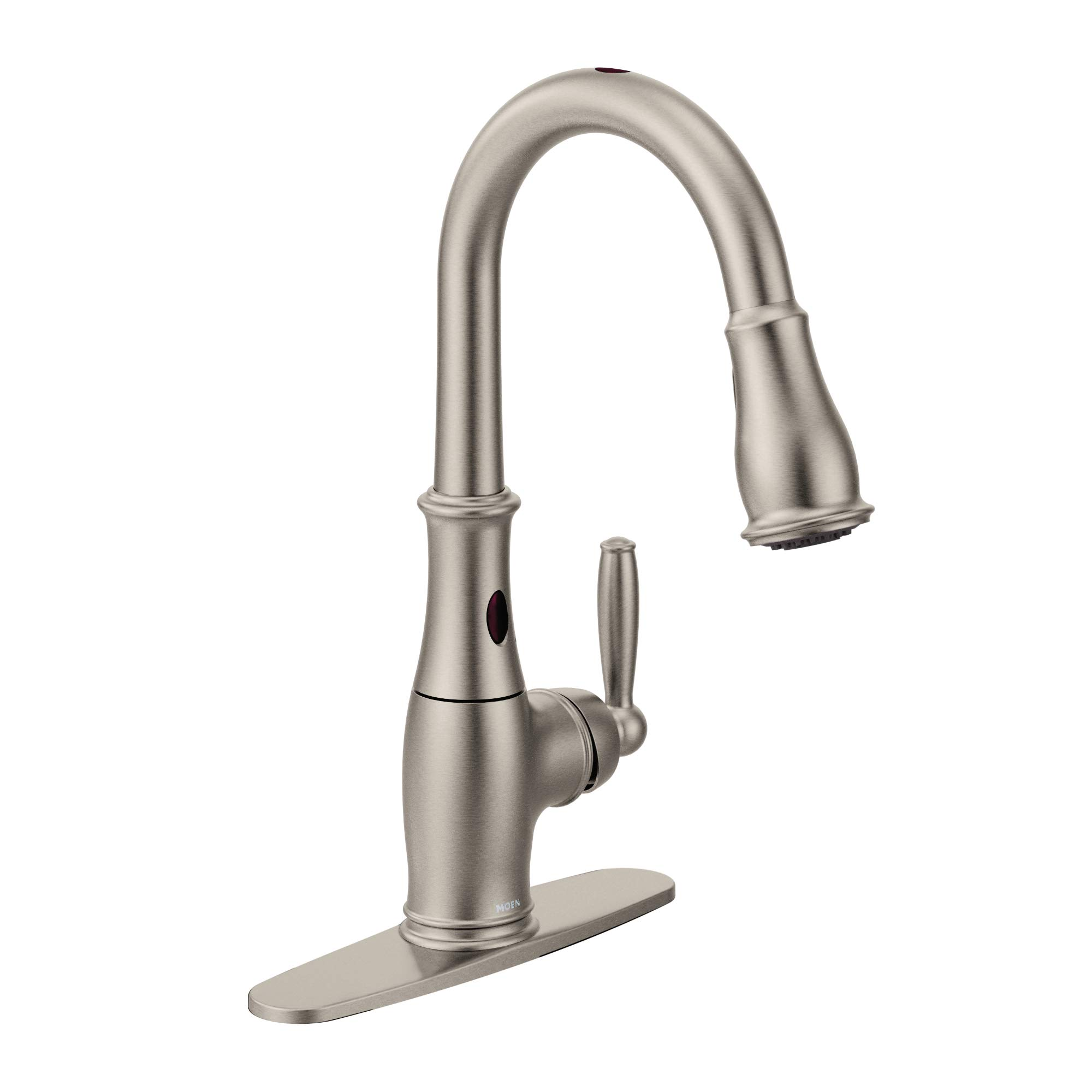 Moen 7185ESRS Brantford Motionsense Two-Sensor Touchless One-Handle High Arc Pulldown Kitchen Faucet Featuring Reflex, Spot Resist Stainless by Moen (Image #7)