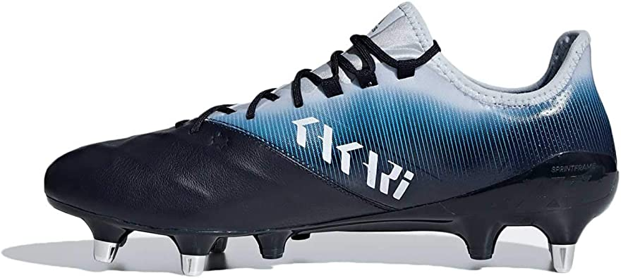 Amazon Com Adidas Kakari Light Sg Rugby Boots Blue Rugby