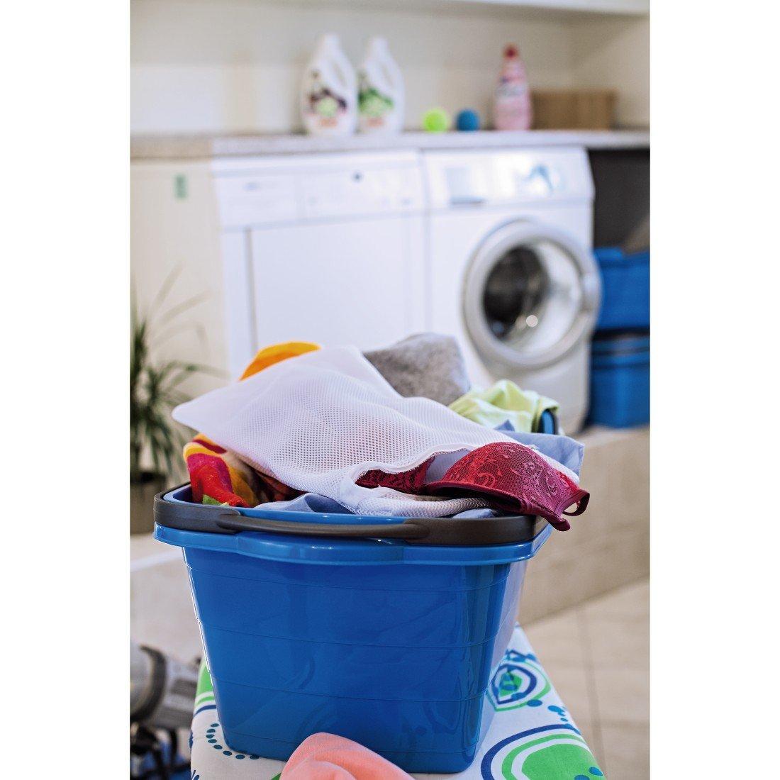 Premium W/äschenetz f/ür Dessous, BH, Strumpfhosen, Socken und Str/ümpfe, Kaschmir, Merino oder Baby-Kleidung, Waschsack gepolstert, 45 x 25 cm, f/ür 1 kg W/äsche Xavax W/äschesack f/ür Waschmaschine