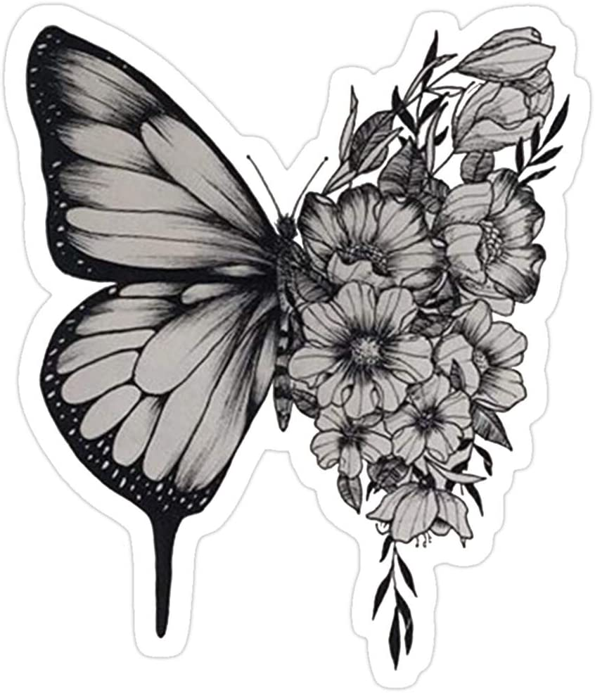 B. Strange Mall s h a w n - Butterfly Stickers (3 Pcs/Pack)