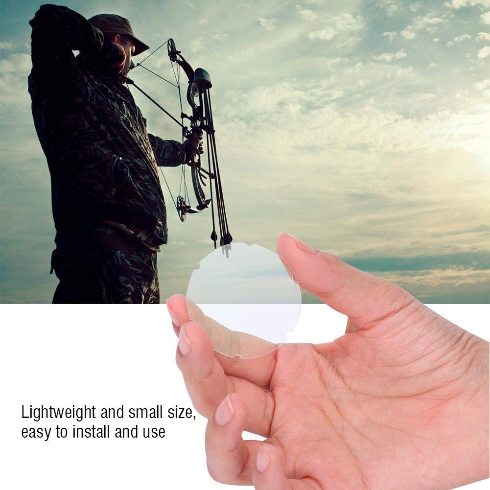T-best Archery Scope Lens,Professional Archery Compound Bow Scope Sight Pin Lens Magnifyling Glass for Bow Sigh 4X 6X 8X