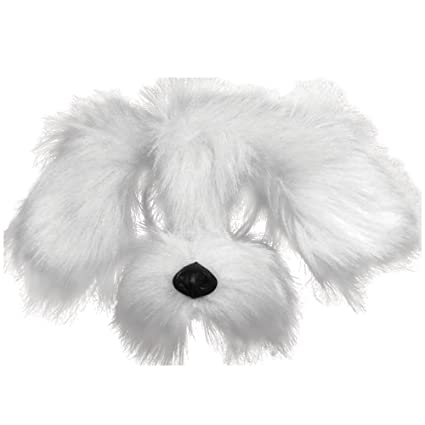 Amazon Com Bristol Novelty Em358 Shaggy Dog Mask With Sound On