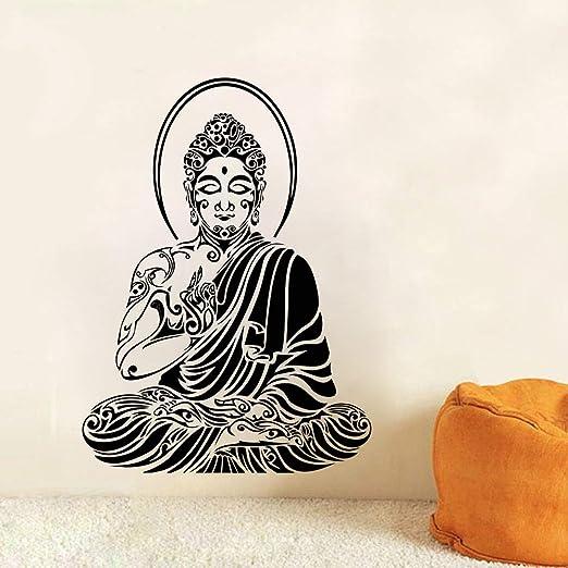 GUUTOP Tatuajes de Pared Tribales de Buda Estilo Budista Arte de ...