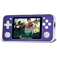 Retro Spelkonsol Anbernic RG351P 64 GB med 2500 spel, Stöd PSP, NDS, DC,FC, Handhållen spelkonsol RK3326 Quad core 1,5…