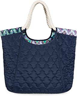product image for cinda b. Women's Beach Tote, Midnight Calypso, One Size