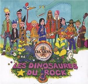 vignette de 'Les dinosaures du rock (Da Silva)'