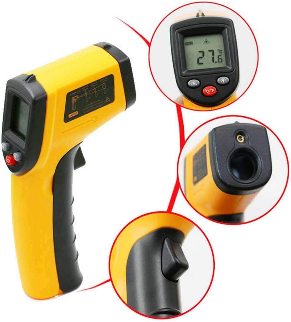 -50 /° C a 550 /° C apagado autom/ático luz de fondo Term/ómetro infrarrojo GM320 Probador l/áser infrarrojo digital con iluminaci/ón LCD /° C // /° F conmutable