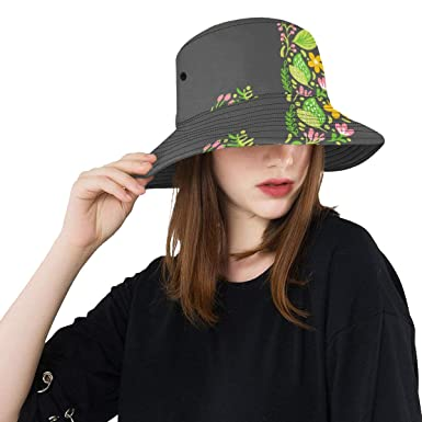 e897bb3729157 Top Hats Summer Spring Bucket Hat Simple Fashion Style English Letter J  Reversible Outdoor Hats Travel