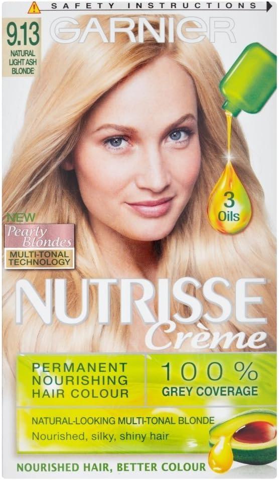 Garnier Nutrisse 9.13 - Tinte para el cabello permanente ...