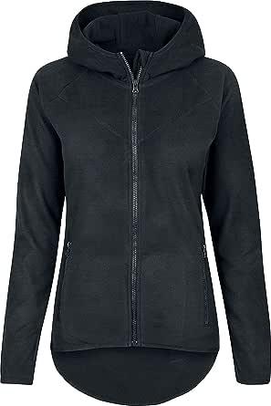 Urban Classics Women's Polar Fleece Zip Hoodie Hooded Sweatshirt