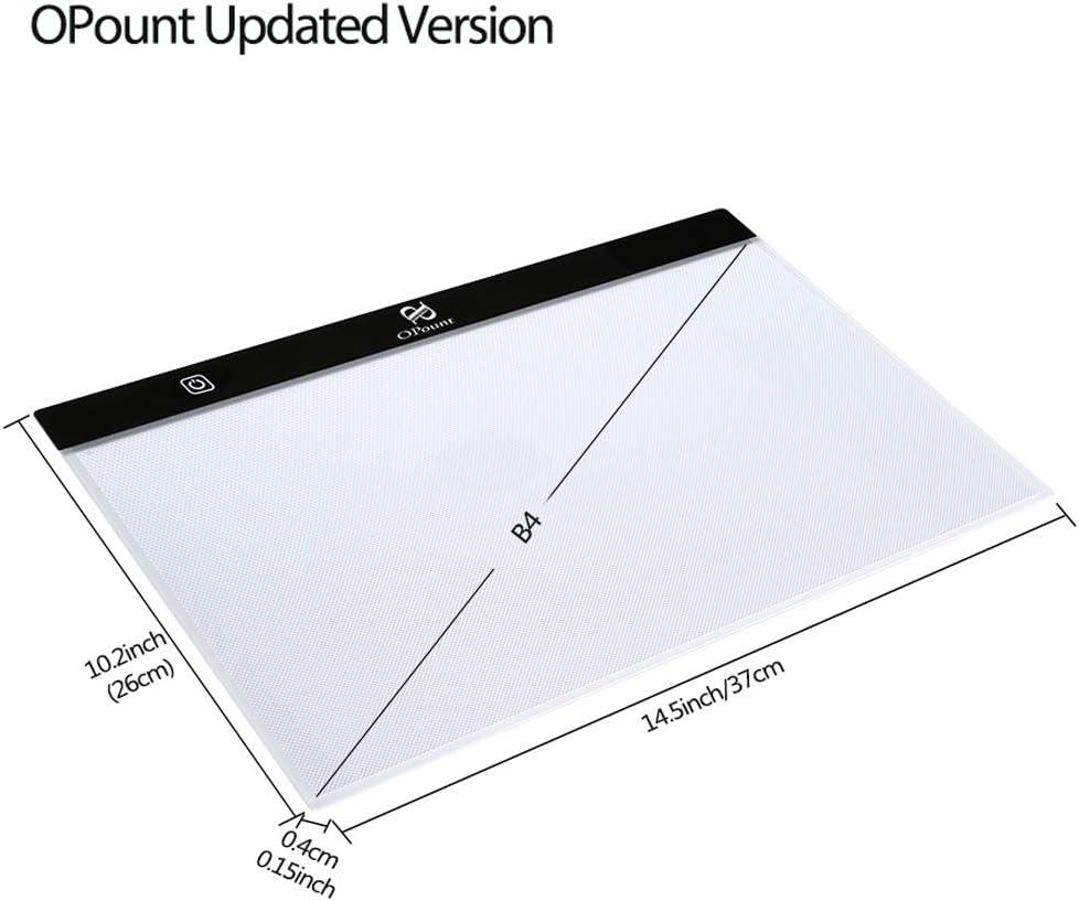 PP OPOUNT Diamond Painting A4 5D LED Light Pad Set B4