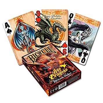 Bicycle - Anne Stokes Age of Dragons - Deck of Cards ...