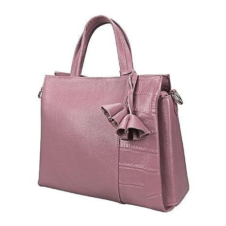 Carteras y bolsos de cuero genuino para mujer Bolsos de hombro de la taleguilla del diseñador