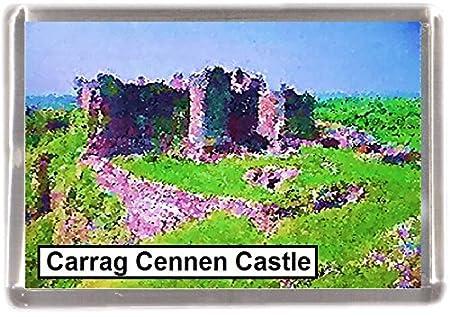 carrag cennen castillo al por mayor Lote de 12 imanes de nevera 12 ...