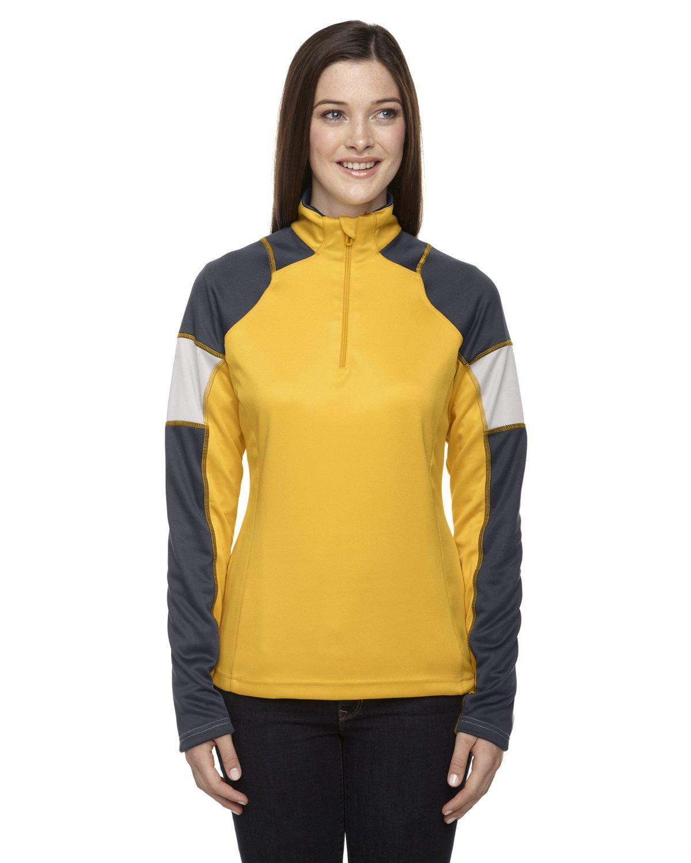 Quick Ladies' Performance Interlock Half-Zip Tops Jacket Size XS - 3X Ash City - North End M10285
