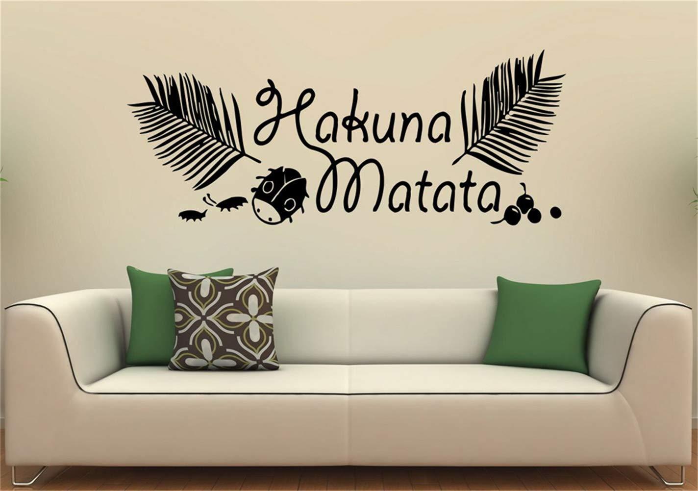 pegatinas de pared y murales Hakuna Matata Vinilos decorativos ...