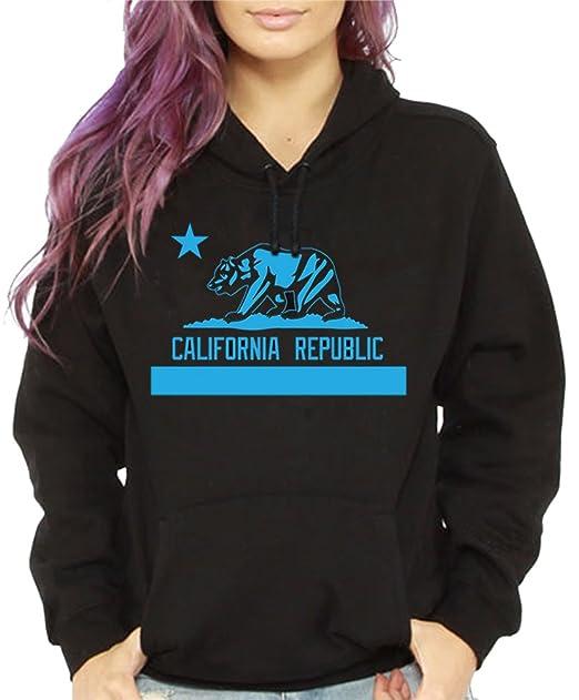 Amazon.com: calidesign Mujer bebé azul California Republic ...