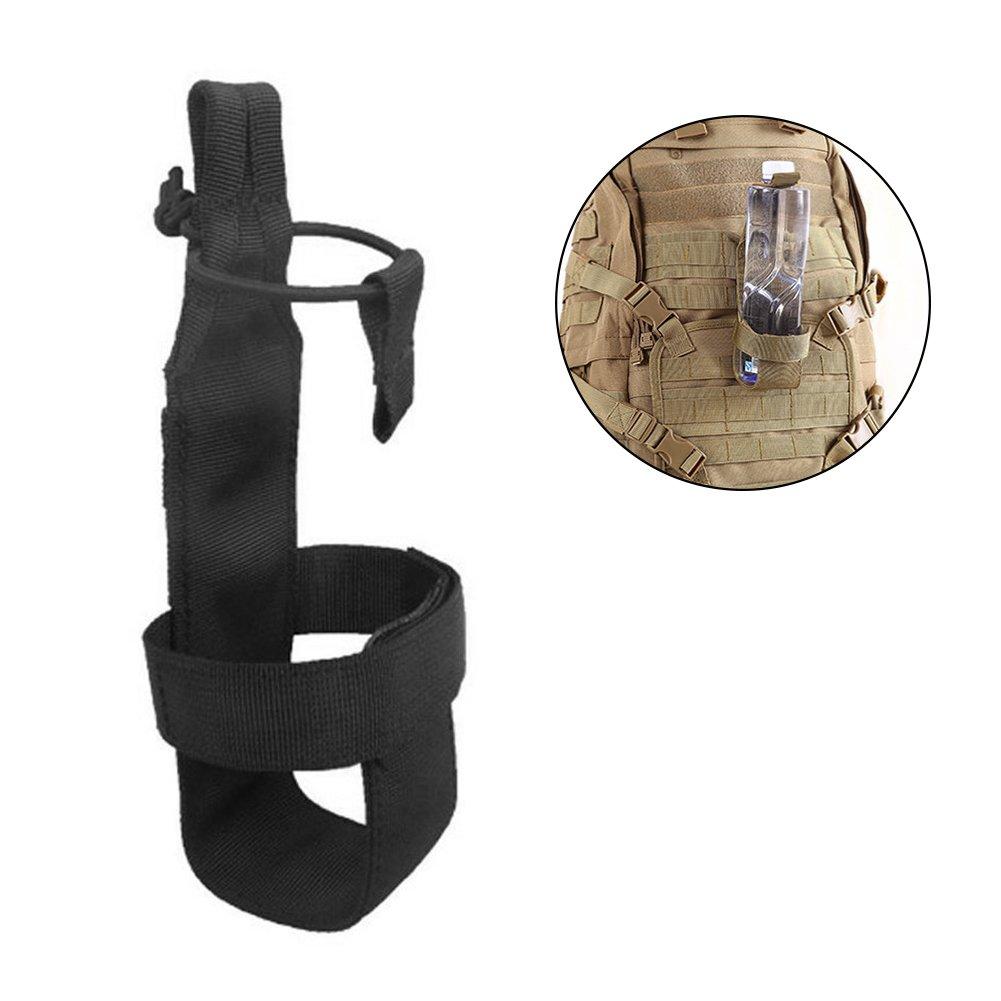 Tactical - Bolsa para botella de agua para exterior, ligera, para senderismo, ciclismo, camping, correr, viajes, etc. Xiaoqingmiao