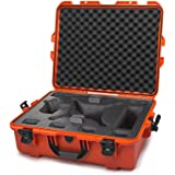 Nanuk DJI Drone Waterproof Hard Case with Custom Foam Insert for DJI Phantom 4/ Phantom 4 Pro (Pro+) / Advanced (Advanced+) & Phantom 3 - 945-DJI43 Orange