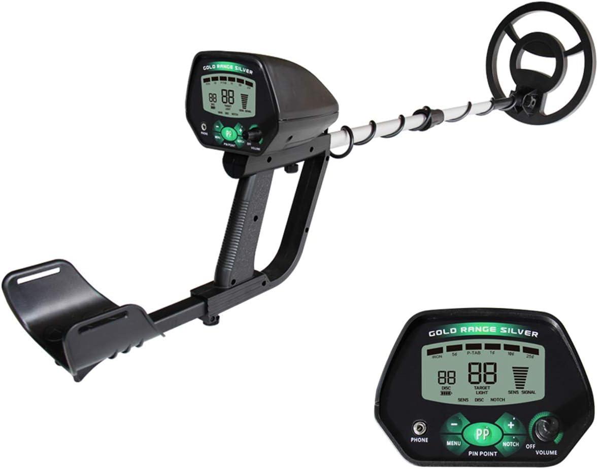 MOIMK Detector de Metales para niños/Adultos, Detector de Oro bajo el Agua Ligera con Pinpoint, Pantalla LCD Buscador de Tesoros con 240MM Bobina de búsqueda Impermeable: Amazon.es: Deportes y aire libre