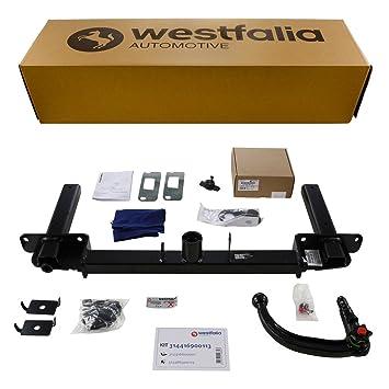 im Set mit 13-poligem fahrzeugspezifischen Westfalia Elektrosatz Abnehmbare Westfalia Anh/ängerkupplung f/ür XC60 BJ 11//2008-07//2014