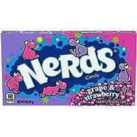 Wonka Nerd Grape and Strawberry Candy Theatre Box, 141g