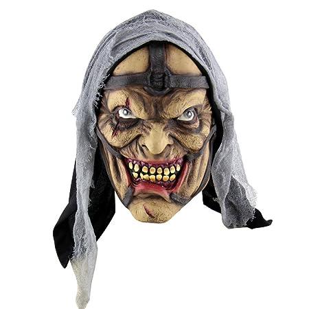 fairylove 1 pc Halloween Scary máscaras de látex disfraz vestido ...