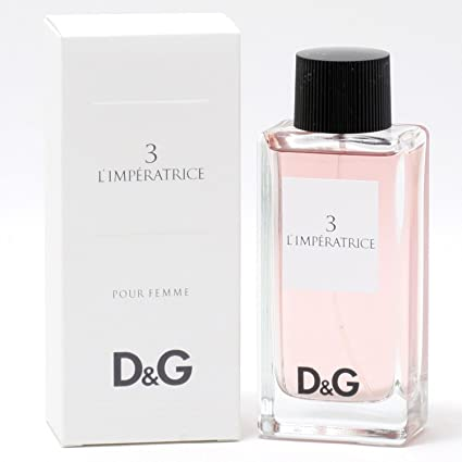 db7dc00c2f9592 Dolce Gabbana 3 L imperatrice Eau De Toilette Spray, Donna, 100 ml ...
