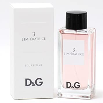 8fdb7d47 Dolce & Gabbana 3 L 'Imperatrice Eau De Toilette Spray, Women 100 ml ...