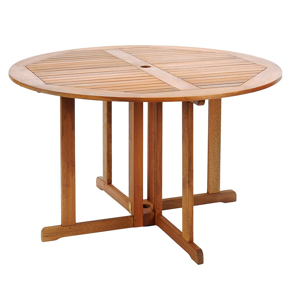 Achla Designs 48 Inch Round Folding Table