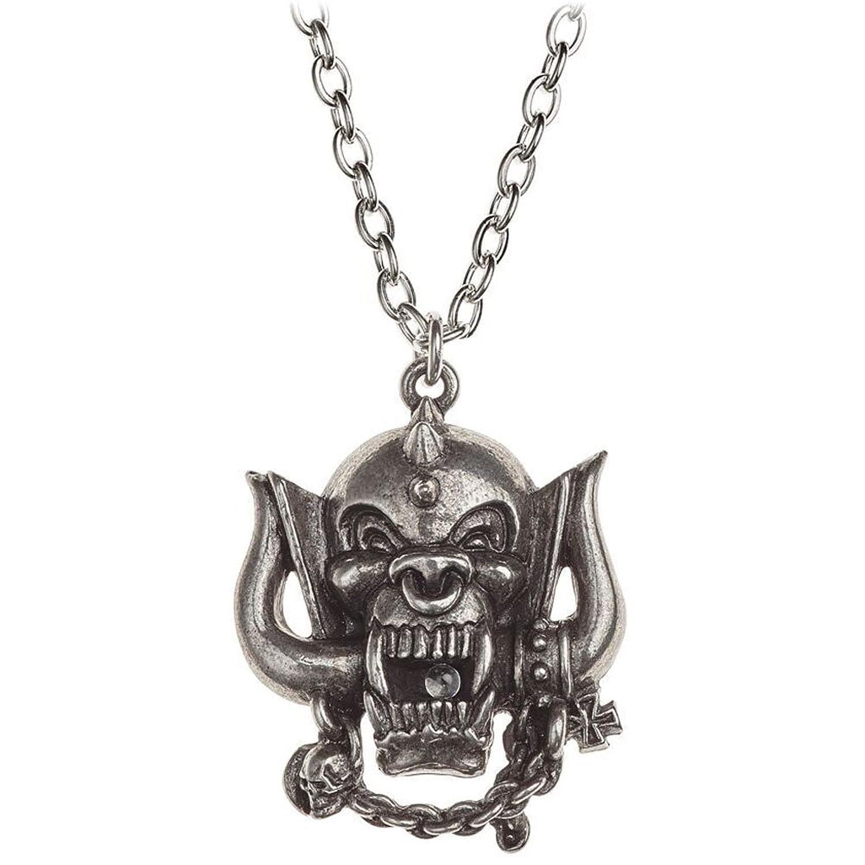 Motorhead War-Pig Snaggletooth Pendant Necklace | Amazon.com