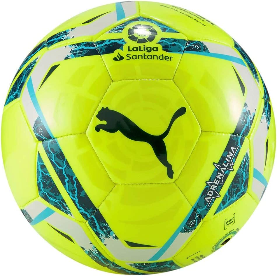 PUMA LaLiga 1 Adrenalina Mini Ball Balón de Fútbol, Unisex-Adult, Lemon Tonic-Multi Colour: Amazon.es: Deportes y aire libre
