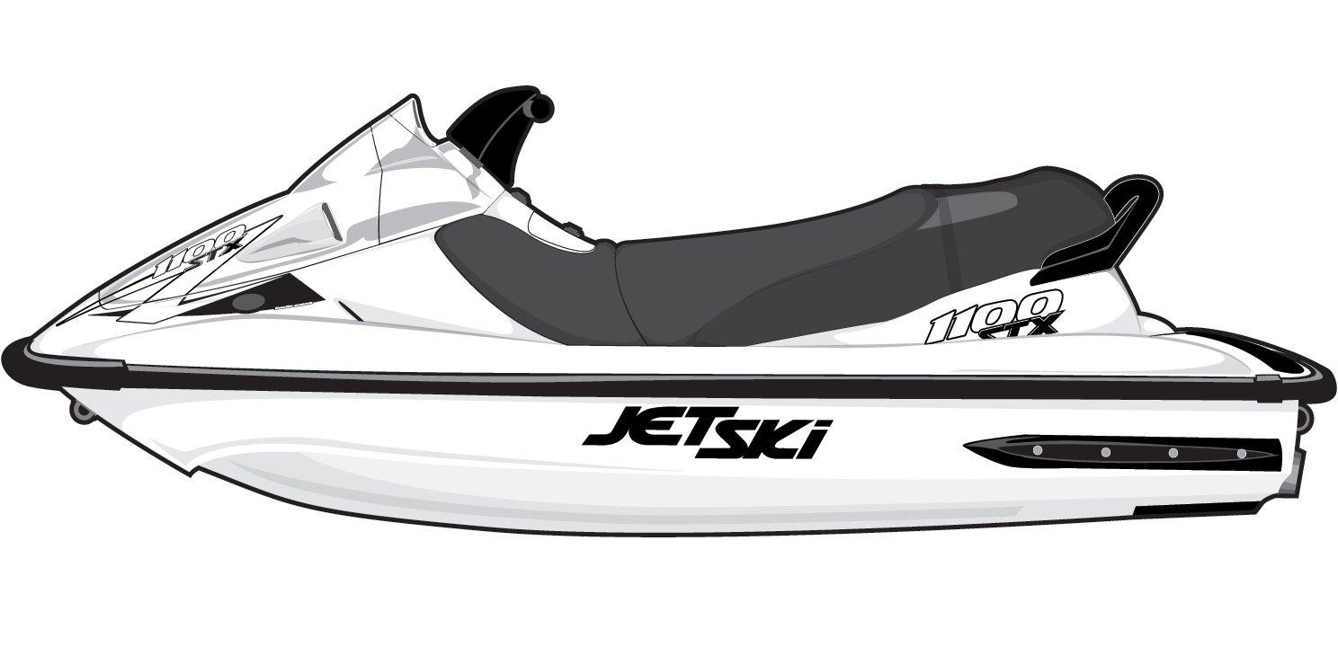 Amazon.com: Exotic Signs Kawasaki Jet Ski STS 900 / STX1100, 900 / STX 900  Graphic Kit - EK0003STS: Sports & Outdoors