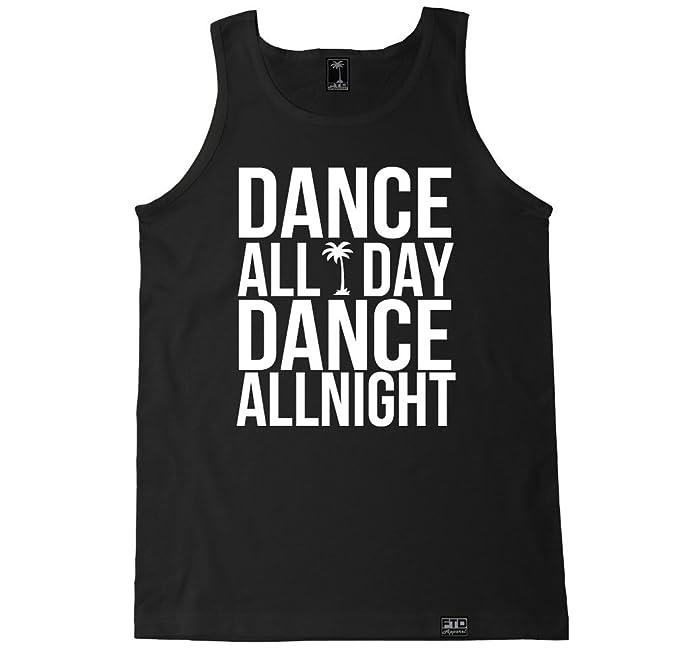 741c94a2e4db Amazon.com  FTD Apparel Men s Dance All Day   All Night Tank Top ...