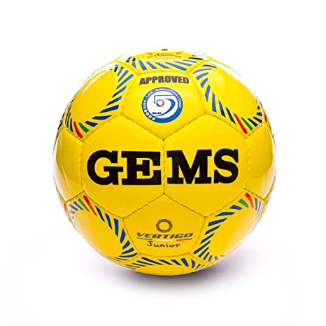 GEMS Balón Vertigo Jr Amarillo Azul: Amazon.es: Deportes y aire libre