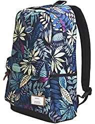 Zealax Girls Floral Backpack for College Student School Bag Travel Daypack