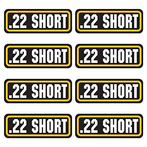 AZ House of Graphics 22 Short Ammo Sticker 8 Pack ()
